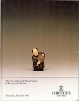 CHRISTIE'S, The Mann Victor collection of netsuke[04/89]