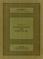 SOTHEBY'S, Japanese netsuke and works of art[12/83]