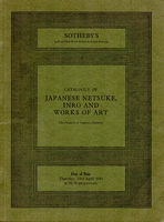 SOTHEBY'S, Japanese netsuke, inro and works of art[04/81]