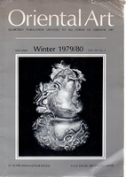 Oriental Art. New Series Volume XXV Number 4. Winter 1979/80