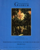 GLERUM Auctioneers, Indonesian Paintings etc. [11/94]