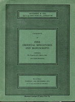 SOTHEBY&CO, Fine oriental miniatures and manuscripts[12/74]