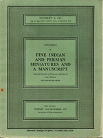 SOTHEBY & CO, Fine Indian and Persian miniatures[12/72]