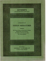 SOTHEBY'S, Indian miniatures [12/77]