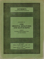 SOTHEBY'S, Fine oriental miniatures and manuscripts[07/78]