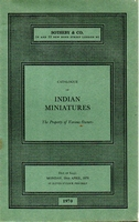 SOTHEBY & CO, Indian miniatures[04/70]