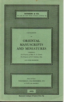 SOTHEBY & CO, Oriental manuscripts and miniatures[12/72]